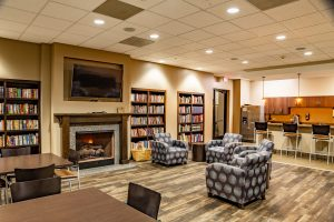 Cornerstone Nashville Church Cafe and Library LED Lighting