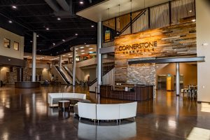 Cornerstone Nashville Lobby LED Conversion