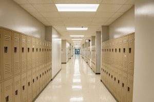 Evangelical Christian School Hallway LED Lighting