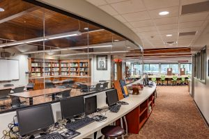 Evangelical Christian School Library LED Lighting Upgrade