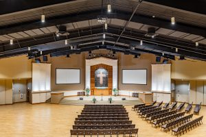 Highland Church of Christ LED Sanctuary Upgrade